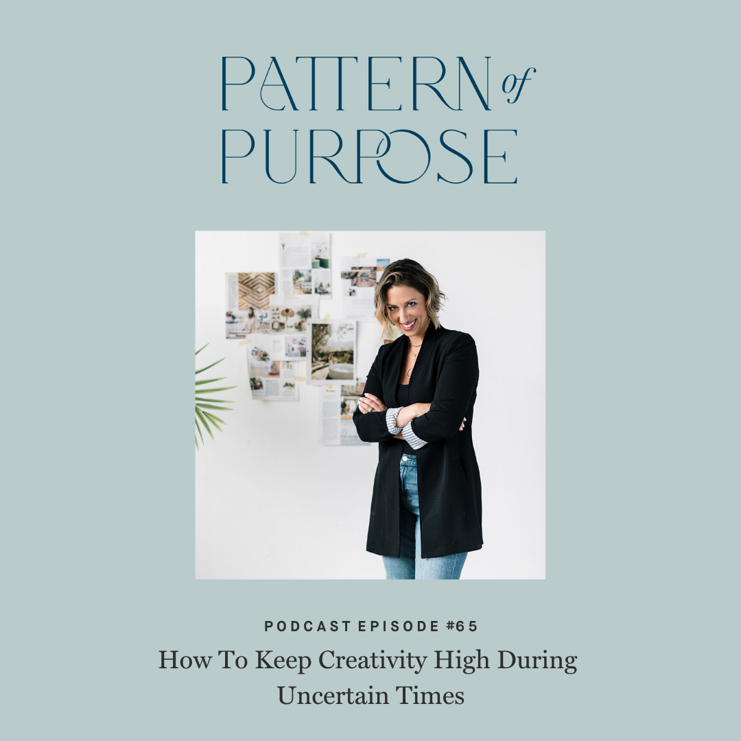 Pattern of Purpose podcast episode 65 cover art