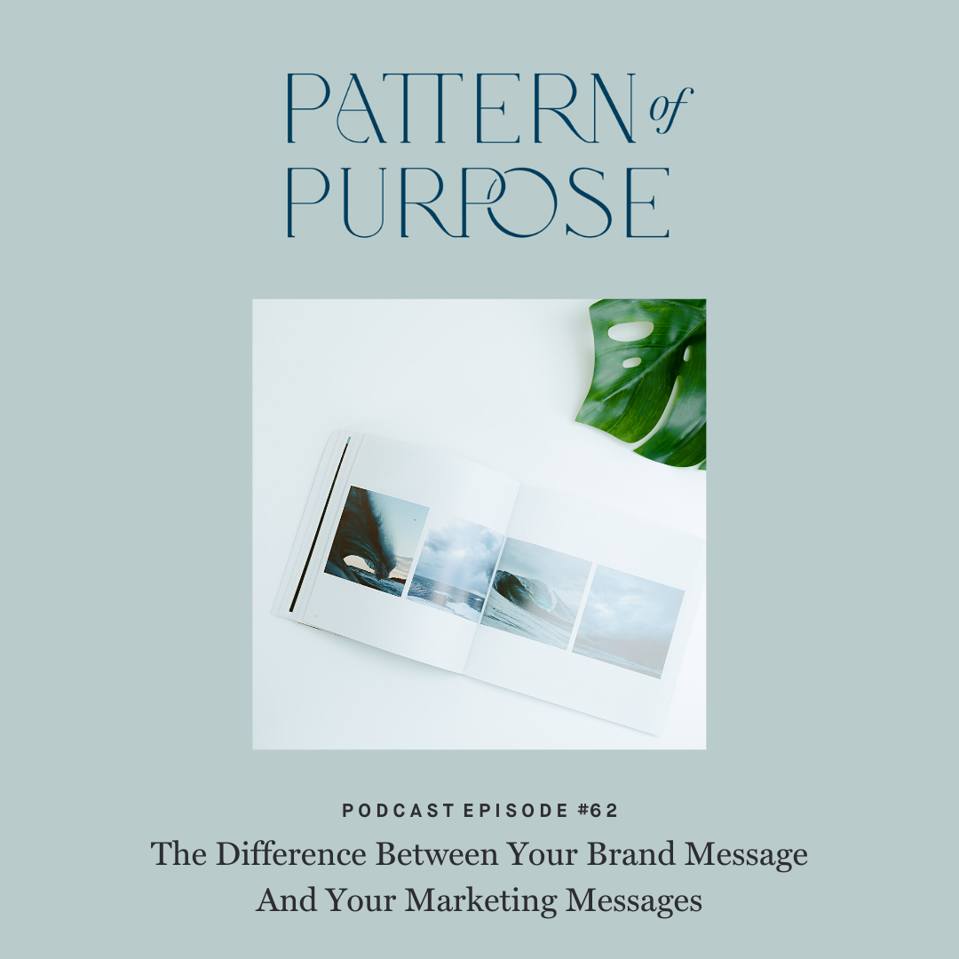Pattern of Purpose podcast episode 62 cover art