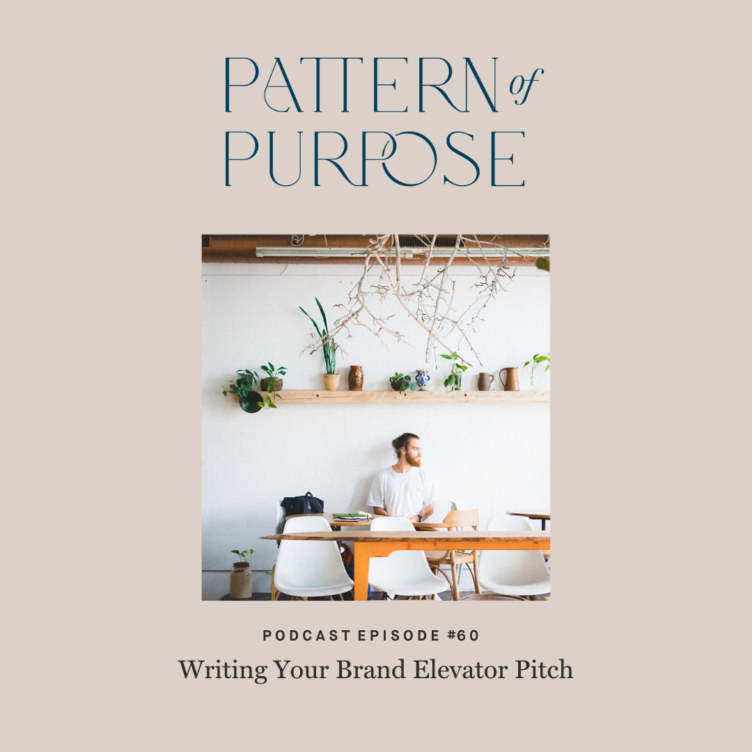 Pattern of Purpose podcast episode 60 cover art