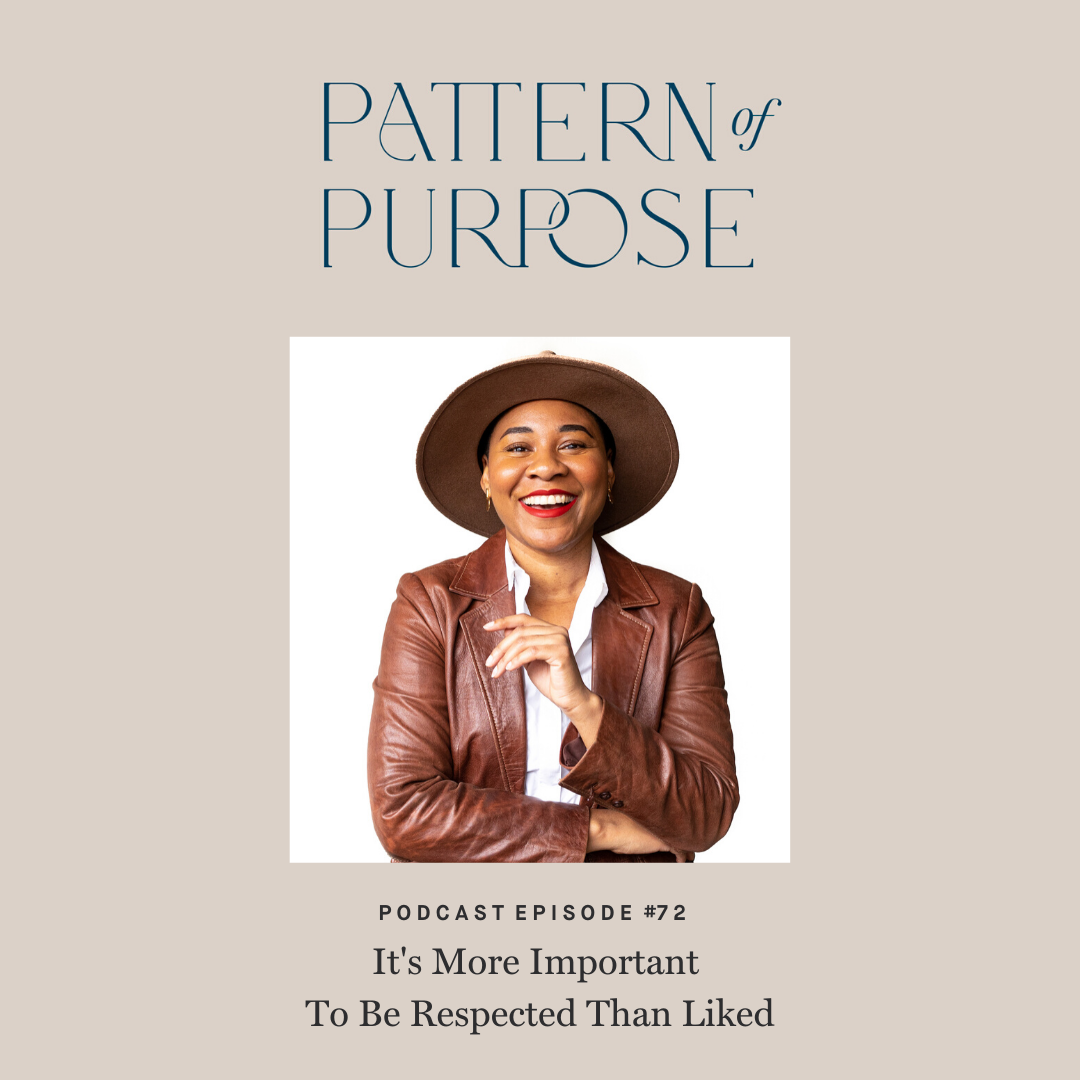 Pattern of Purpose episode 72 cover art Tamera Darden