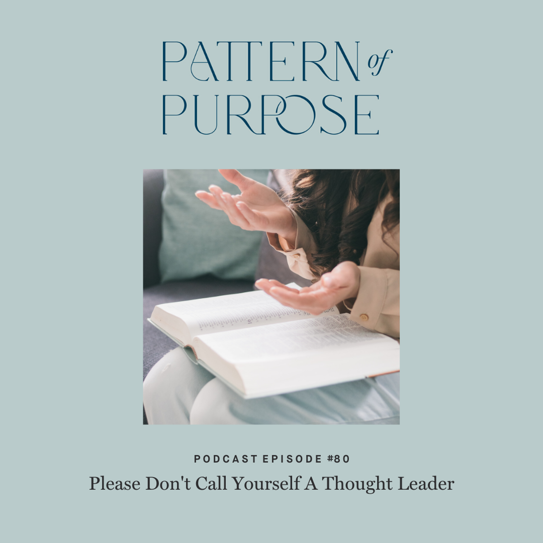 Pattern of Purpose podcast episode 80 cover art