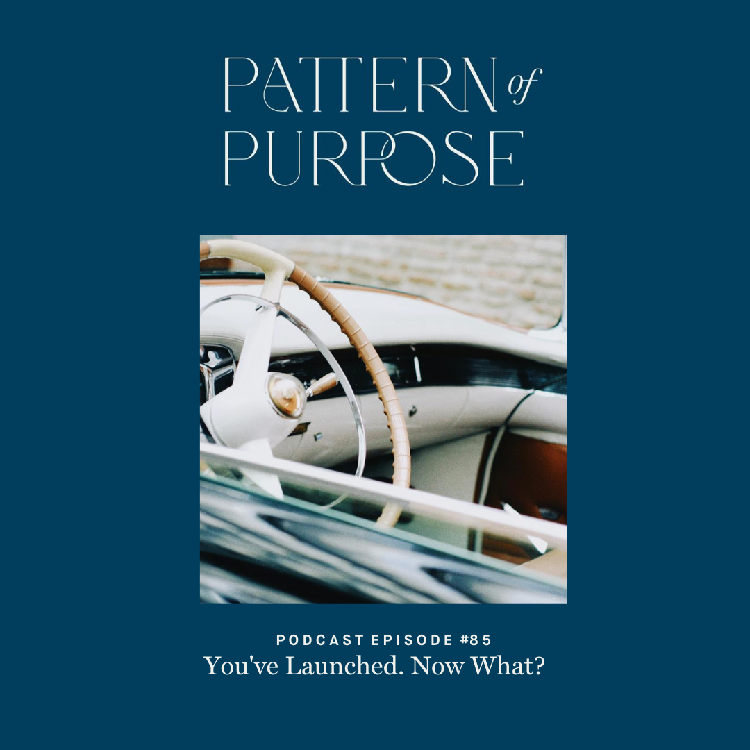 Pattern of Purpose podcast episode 85 cover art