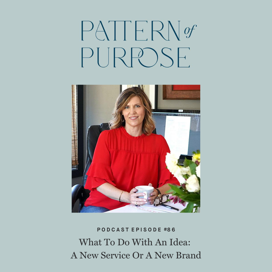Pattern of Purpose podcast episode 86 cover art